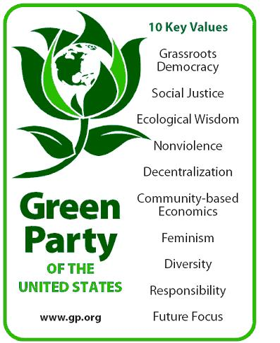 liberal registered party green